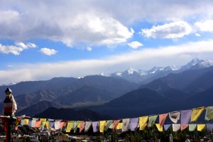 View of the Indian Himalayas from Leh, Ladakh