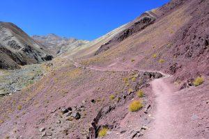 The Markha Valley trail, approaching Yurutse.