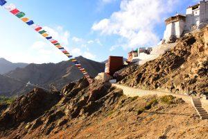 Namgyal Gompa above Leh, Ladakh.