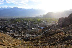 View of Leh, Ladakh.