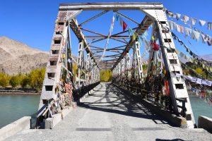 Spituk bridge, Ladakh.