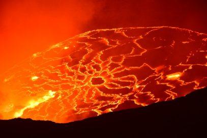 virunga volcano congo