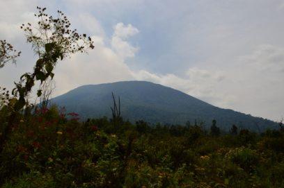 congo virunga volcano