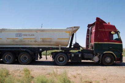 coal truck turkmenistan