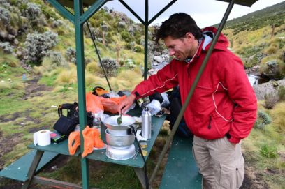 cooking trangier mount kenya