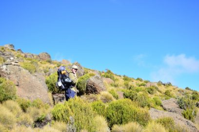 mount kenya sirimon route day3