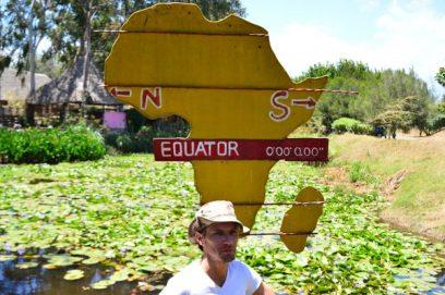 lillypond equator kenya