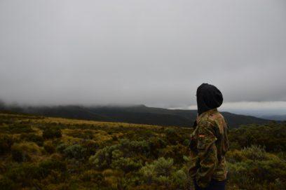 mount kenya sirimon tundra
