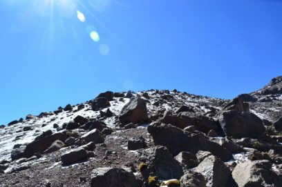 mount kenya lenana scree slope 2
