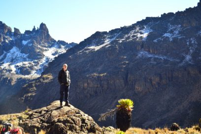 mount kenya summit day