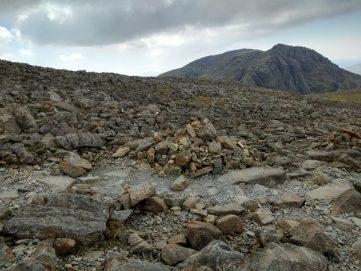 rocks scafell pike wasdale cumbria